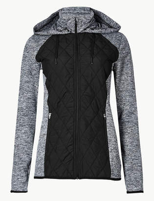 Marks and Spencer Quick Dry Long Sleeve Quilted Jacket