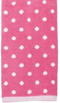 Pottery Barn Teen Dottie Towels, Pink Magenta, Wash Cloth