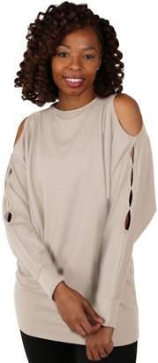 Soybu Women's Peek Long Sleeve Tunic