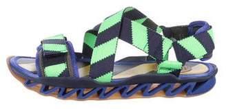 Bernhard Willhelm Crossed Strap Sandals