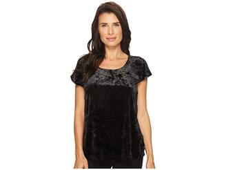 Bobeau B Collection by Kinsey Mixed Tee Women's T Shirt