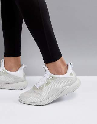 adidas Alphabounce Sneakers In White DB1092