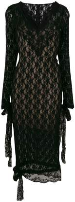 Christopher Kane stretch lace dress