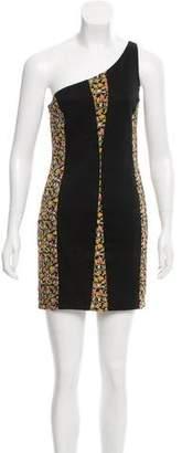 Rag & Bone One Shoulder Mini Dress