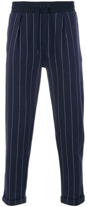 Calvin Klein Jeans pinstriped trousers