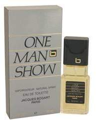 Jacques Bogart One Man Show Eau De Toilette Spray (Damaged Box)