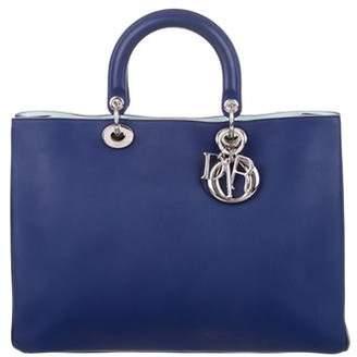 005ee9802ac3 Christian Dior Blue Top Zip Handbags - ShopStyle
