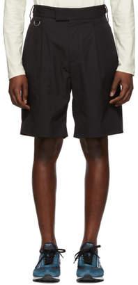 Stella McCartney Black Pleated Shorts