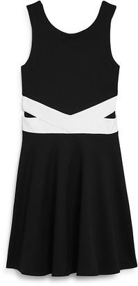 Sally Miller Girls' Cutout Waist Dress - Big Kid $88 thestylecure.com