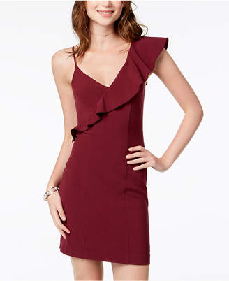 XOXO Juniors' One-Shoulder Bodycon Dress