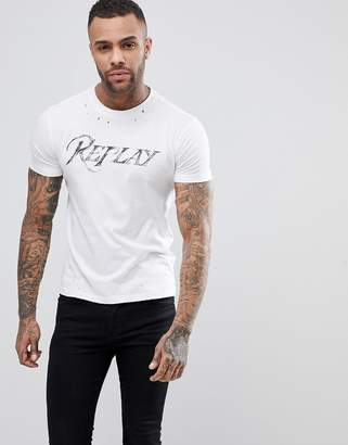 Replay Neymar Logo T-Shirt