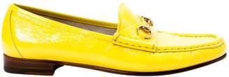 Gucci Yellow Patent leather Flats