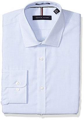 "Tommy Hilfiger Men's Slim Fit Dress Shirt -, 15.5"" Neck 32""-33"" Sleeve"
