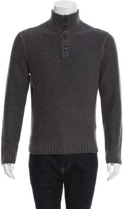 Inhabit Cashmere Henley Sweater w/ Tags
