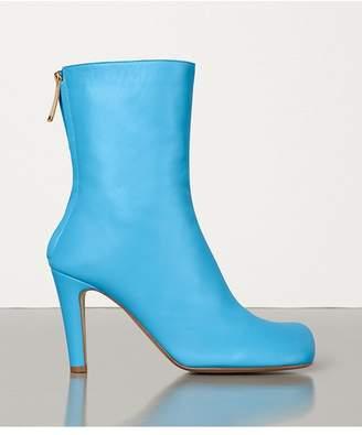 Bottega Veneta Bloc Boots In Nappa Dream