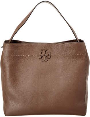 Tory Burch Mcgraw Leather Hobo Bag