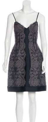 Lanvin Lace Mini Dress