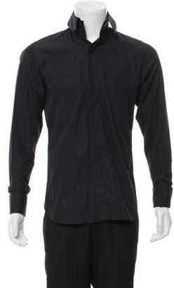 Christian Dior French Cuff Button-Up Shirt
