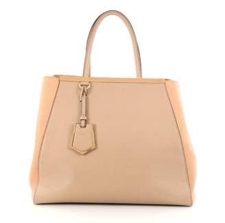 Fendi Brown Leather Handbag