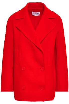 Claudie Pierlot Double-breasted Wool-blend Coat