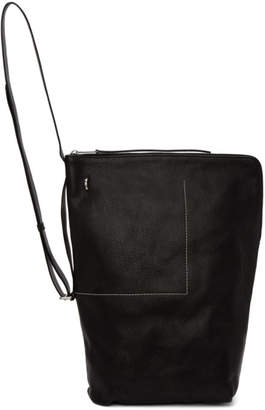 Rick Owens Black Bucket Backpack
