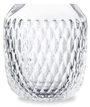 Saint Louis Folia Small Crystal Vase