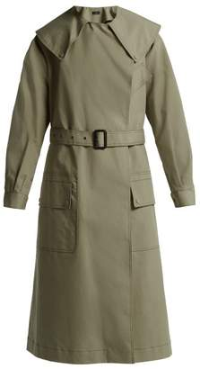 Joseph - Damon Cotton Gabardine Trench Coat - Womens - Khaki