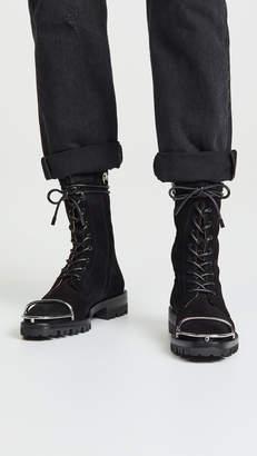 Alexander Wang Kennah Suede Boots