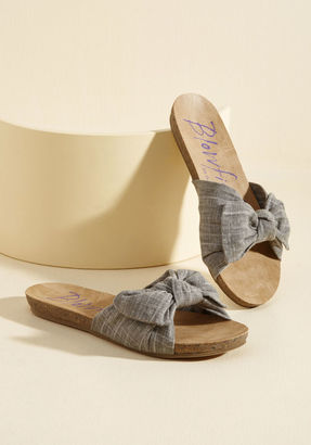 Balcony and Beyond Sandal in Smoke in 7 $39.99 thestylecure.com