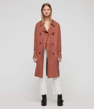 AllSaints Brooke Trench Coat