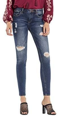 Miss Me Women's Excess Distressed Skinny Denim Jean