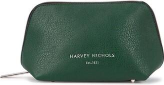 Harvey Nichols Small Forest Green Cosmetics Case