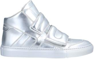 5d609a22e28 MM6 MAISON MARGIELA Silver Women s Sneakers - ShopStyle