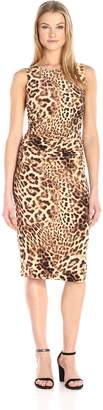 Norma Kamali Women's Sleeveless Shirred Waist Dress in , S