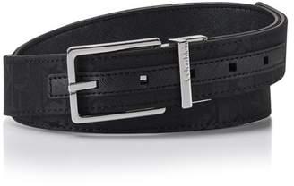 Calvin Klein logo jacquard reversible belt
