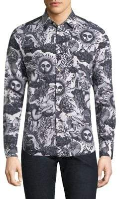 Paul Smith 1974 All Over Print Shirt