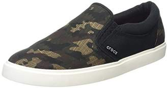 Crocs Men's CitiLane Graphic Slipon Sneak Flat
