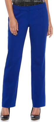 Apt. 9 Women's Torie Midrise Curvy Straight-Leg Dress Pants
