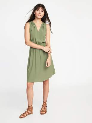 Old Navy Waist-Defined Sleeveless Dress for Women