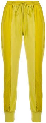Andrea Ya'aqov two-tone sweat pants
