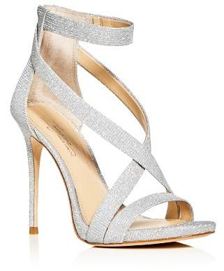 Vince Camuto Imagine Women's Devin Glitter Ankle Strap High-Heel Sandals