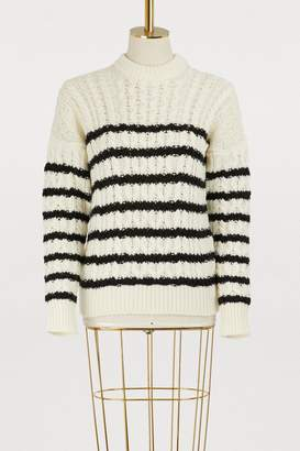 Loewe Striped knit pullover