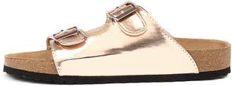 Lipstik Teri Rose gold Sandals Womens Shoes Casual Sandals-flat Sandals