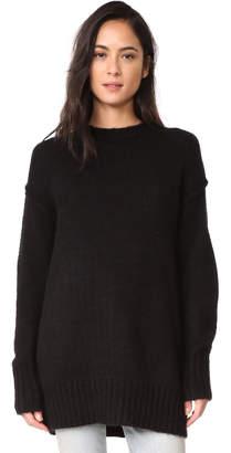 R 13 Oversized Crew Sweater