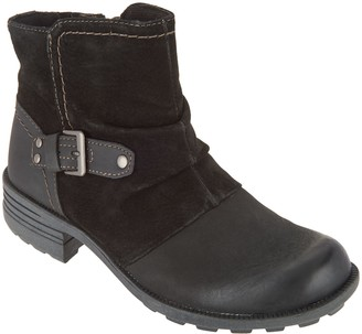 Earth Origins Leather & Suede Ankle Boots - Phoenix
