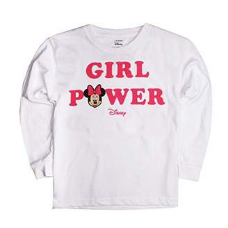 76026bd55ce6c Disney Minnie Mouse - Girl Power Long Sleeve Top