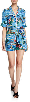 Le Superbe Beatnik Aloha Short Romper