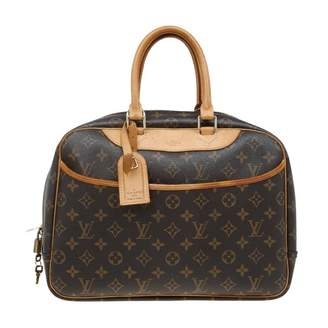 Louis Vuitton Deauville Leather Handbag