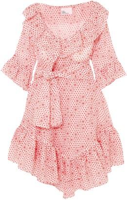 Lisa Marie Fernandez Floral-print Cotton-gauze Mini Dress