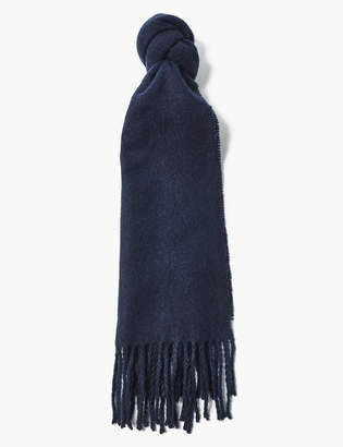 M&S Collection Tassel Scarf